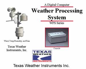 Texas Weather Instruments WPS-10 Weather Processing System