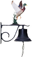 Whitehall Large Bell with Duck Country Bell