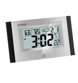 Meade RCW33W-M RCW33W Digital Atomic Wall Clock