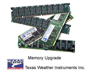 Texas Weather Instruments 019 Upgrade WR-25 Console or WPS-10 to 128K Memory