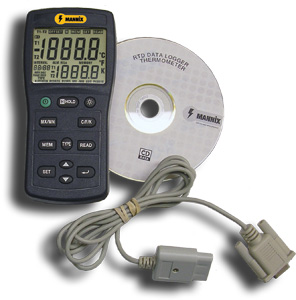 General Tools PRTD1317DL Digital Platinum RTD Thermometer & Data Logger