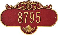 Whitehall Rochelle Petite Personalized Address Plaque (2020)