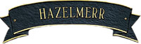 Whitehall Standard Ribbon Personalized Plaque (2034)