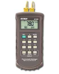 Extech 421509  7 Thermocouple Datalogger with Alarm