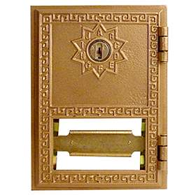 Salsbury industries 2051 #1 Door-Replacement Door For Brass Mailboxes-with (2) Keys