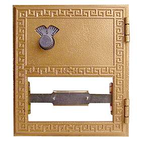 Salsbury industries 2052CL #2 Door-Replacement Door For Brass Mailboxes-with Combination Lock