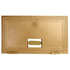 Salsbury industries 2053 #3 Door-Replacement Door For Brass Mailboxes-with (2) Keys