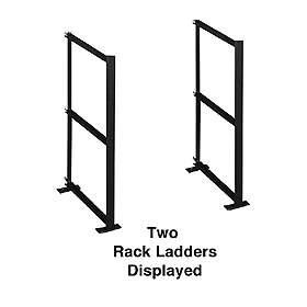 Salsbury industries 2200C2 Rack Ladder Custom-For Aluminum Mailboxes-2 High