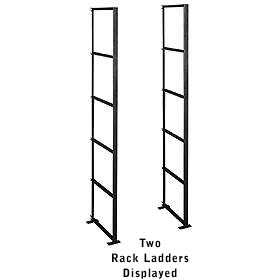 Salsbury industries 2400 Rack Ladder-Standard-For Data Distribution Aluminum Box-5 High