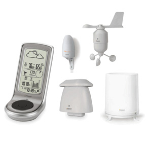 Oregon Scientific WMR100 (WMR100N) Professional Weather Station with UV and Free Virtual Weather Station Base Edition