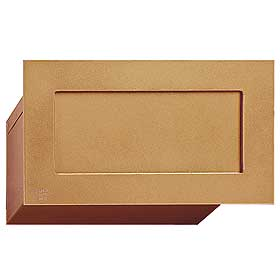 Salsbury industries 2255B Mail Drop-Brass Finish