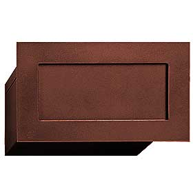 Salsbury industries 2255Z Mail Drop-Bronze Finish
