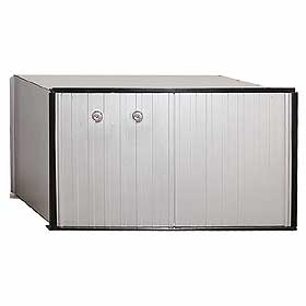 Salsbury industries 2270P 1 Door Aluminum Parcel Locker-Private Access
