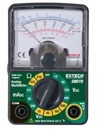 Extech 38070 Compact Analog MultiMeter
