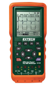 Extech 381295-220 5MHz Dual Channel Multiscope� - 220V