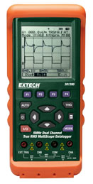 Extech 381395 5MHz Dual Channel Datalogging MultiScope�