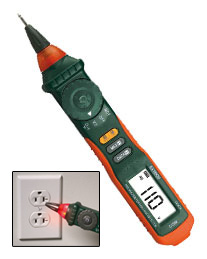 Extech 381676 Pen DMM with Non-Contact Voltage Detector