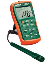 Extech EA20-NIST EasyView� Hygro-Thermometer (NIST Certified)