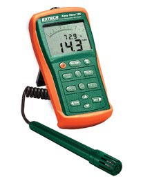 Extech EA25-NIST EasyView� Hygro-Thermometer and Datalogger (NIST Certified)
