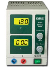 Extech 382202 18V/3A Single Output DC Power Supply
