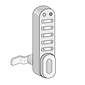 Salsbury industries 33390 Electronic Lock-For Designer Locker