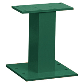 Salsbury industries 3385GN Pedestal-Green-For Cluster Box Unit Type III and IV and Outdoor Parcel Locker