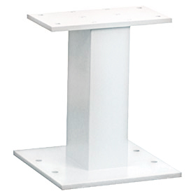 Salsbury industries 3385W Pedestal-White-For Cluster Box Unit Type III and IV and Outdoor Parcel Locker