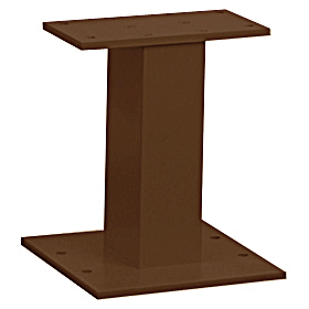 Salsbury industries 3385Z Pedestal-Bronze-For Cluster Box Unit Type III and IV and Outdoor Parcel Locker