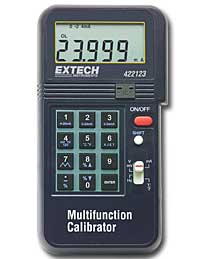Extech 422123-NIST Precision Multifunction Calibrator (NIST Certified)
