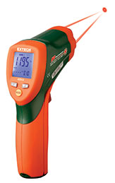 Extech 42512-NIST Dual Laser InfraRed Thermometer (NIST Certified)