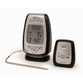 Chaney 03168 Digital Cooking Thermometer with Wireless Pager