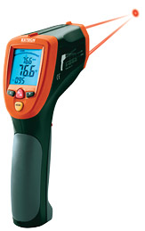 Extech 42570 Dual Laser InfraRed Thermometer with FREE UPS