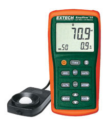 Extech EA33-NIST EasyView� Light Meter with Memory (NIST Certified)
