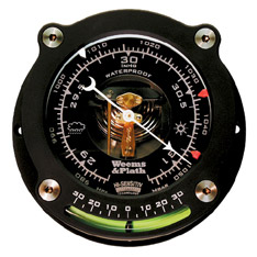 Weems and Plath 163015 Barometer with Inclinometer