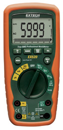 Extech EX520 Heavy Duty Industrial MultiMeter with FREE UPS
