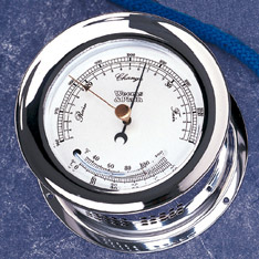 Weems and Plath 221000 Atlantis Barometer/Thermometer