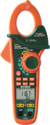 Extech EX623 400A Dual Input Clamp Meter + IR Thermometer + NCV