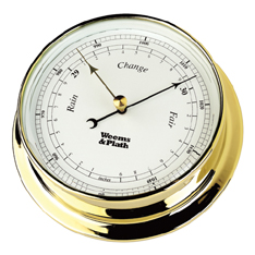Weems and Plath 530700 Brass Endurance 125 Barometer