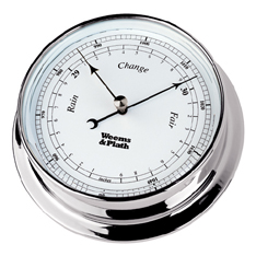 Weems and Plath 540700 Chrome Endurance 125 Barometer