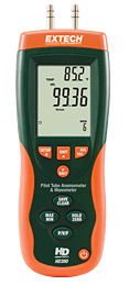 Extech Instruments HD350 Pitot Tube Anemometer plus Differential Manometer w/ Free UPS