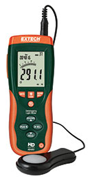 Extech HD450-NIST Datalogging Heavy Duty Light Meter (NIST Certified)