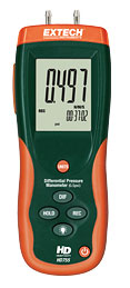 Extech HD755-NIST Differential Pressure Manometer (0.5psi) (NIST Certified)