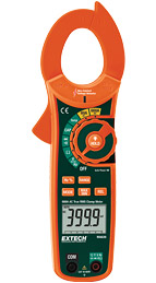 Extech LT300-NIST 600A True RMS AC Clamp Meter + NCV (NIST Certified)