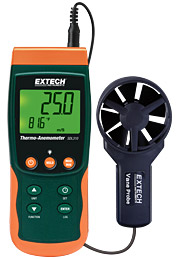 Extech SDL310 Thermo-Anemometer/Datalogger w/ Free UPS