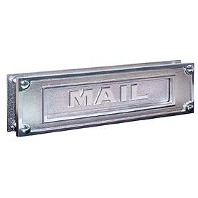 Salsbury industries 4075C Mail Slot-Deluxe-Solid Brass-Chrome Finish