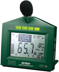 Extech SL130G-NIST Sound Level Alert with Alarm (NIST Certified)
