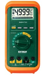 Extech MP510A MultiPro� High-Performance MultiMeter w/ FREE UPS