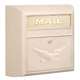 Salsbury Industries 4150BGE Modern Mailbox-Beige-Eagle Door