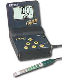 Extech Oyster10 Oyster Series pH/mV/Temp Meter
