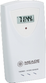 Meade TE653ELW TE653ELW-M Complete Weather Forecaster with Indoor / Outdoor Temperature and Humidity